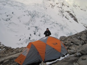 Tocclaraju High Camp
