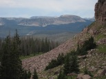 Uintas Rock Creek Basin Sept 2011 112