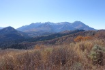 Looking back at Timp Mtns