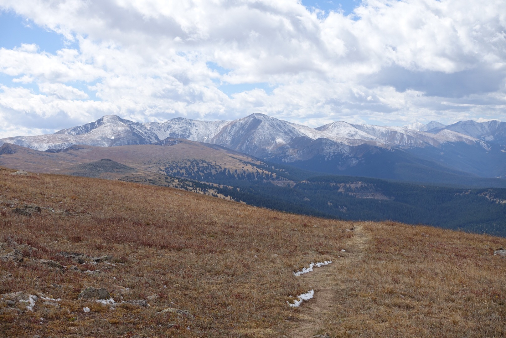 Rocky Mountain National Park (Grand Lake, CO) to Indian Peaks Wilderness (Winter Park, CO)